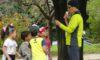 今日は「親子自然と遊ぼう会」を開催しました