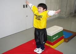 スポーツ塾(跳び箱)