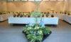 明日から「斑入り植物と苔玉展」を開催